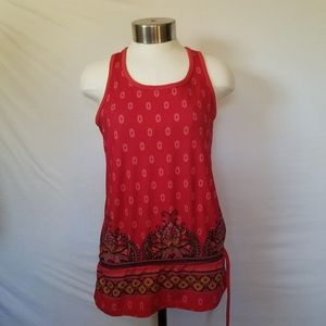 Athleta Red Tinker Racerback Tank Top Wome